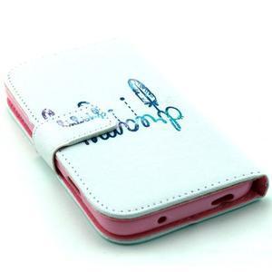 Standy peněženkové pouzdro na Samsung Galaxy S4 - dream - 4