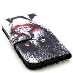 Standy peněženkové pouzdro na Samsung Galaxy S4 - monstrum - 4/7