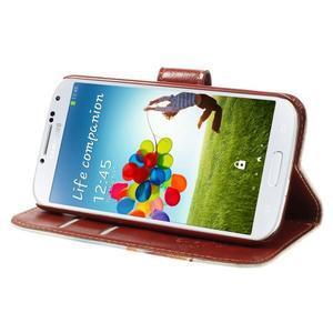 Elegant peněženkové pouzdro na Samsung Galaxy S4 - Eiffelova věž - 4