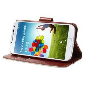 Elegant peněženkové pouzdro na Samsung Galaxy S4 - New York - 4