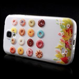 Slim gelový obal na mobil Samsung Galaxy S4 - donuts - 4