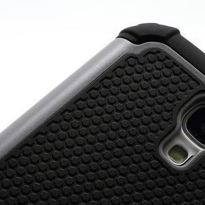 Outdoor odolný silikonový obal na Samsung Galaxy S4 - šedý - 4
