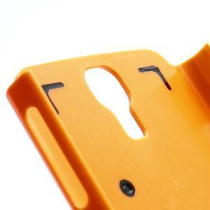 Outdoor odolný silikonový obal na Samsung Galaxy S4 - oranžový - 4