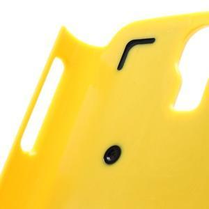 Outdoor odolný silikonový obal na Samsung Galaxy S4 - žlutý - 4