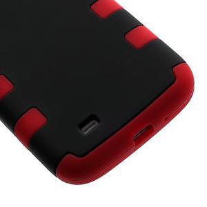 Extreme odolný gelový obal 2v1 na Samsung Galaxy S4 - červený - 4