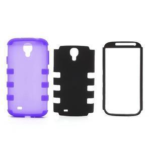 Extreme odolný gelový obal 2v1 na Samsung Galaxy S4 - fialový - 4