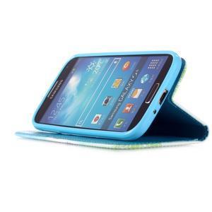 Knížkové koženkové pouzdro na Samsung Galaxy S4 - láska - 4