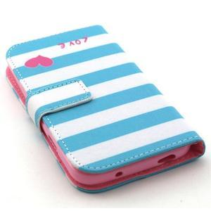 Standy peněženkové pouzdro na Samsung Galaxy S4 - love - 4