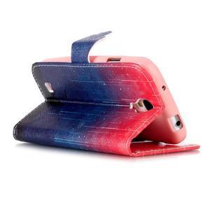 Emotive peněženkové pouzdro na Samsung Galaxy S4 mini - meteory - 4