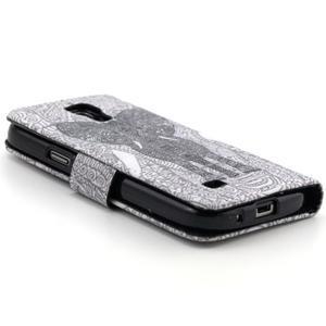 Pouzdro na mobil Samsung Galaxy S4 mini - slon - 4