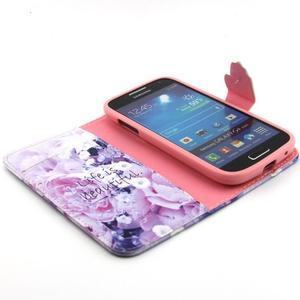 Diaryleather pouzdro na mobil Samsung Galaxy S4 mini - beatiful - 4