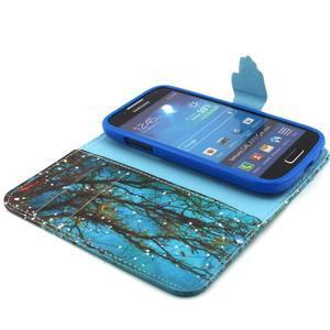 Diaryleather pouzdro na mobil Samsung Galaxy S4 mini - větve stromu - 4