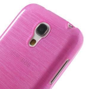 Brushed gelový obal na mobil Samsung Galaxy S4 mini - rose - 4