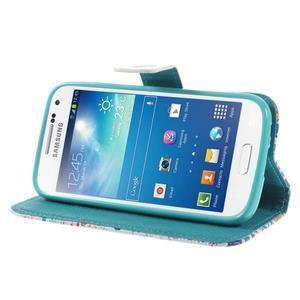Style peněženkové pouzdro na Samsung Galaxy S4 mini - Londýn - 4
