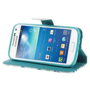Style peněženkové pouzdro na Samsung Galaxy S4 mini - motýlci - 4