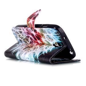 Emotive peněženkové pouzdro na Samsung Galaxy S4 mini - barevená pampeliška - 4