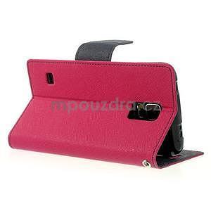 Diary peněženkové pouzdro na Samsung Galaxy S5 - rose - 4