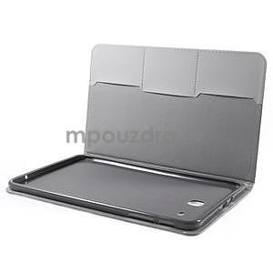 Ochranné koženkové pouzdro na Samsung Galaxy Tab E 9.6 - Eiffelova věž - 4