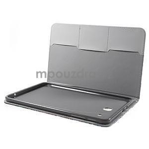 Ochranné koženkové pouzdro na Samsung Galaxy Tab E 9.6 - strom - 4