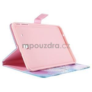 Ochranné koženkové pouzdro na Samsung Galaxy Tab E 9.6 - odkvetlá pampeliška - 4