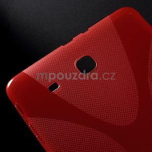 X-line gelové pouzdro na tablet Samsung Galaxy Tab E 9.6 - červené - 4