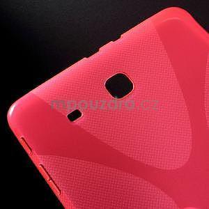 X-line gelové pouzdro na tablet Samsung Galaxy Tab E 9.6 - rose - 4