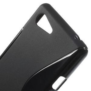 S-line gelový obal na Sony Xperia E3 - černý - 4