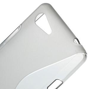 S-line gelový obal na Sony Xperia E3 - šedý - 4