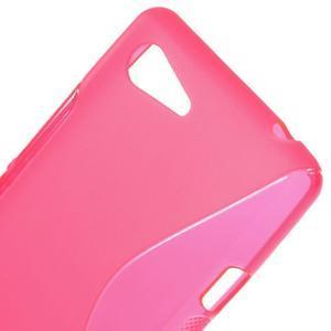 S-line gelový obal na Sony Xperia E3 - rose - 4
