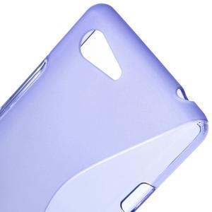 S-line gelový obal na Sony Xperia E3 - fialový - 4