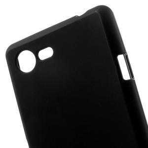 Matný gelový obal na mobil Sony Xperia E3 - černý - 4