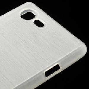 Brushed gelový obal na mobil Sony Xperia E3 - bílý - 4