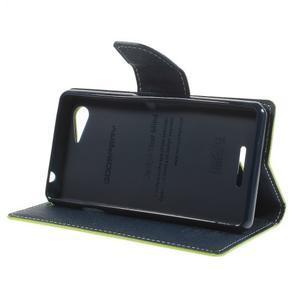 Richmercury pouzdro na mobil Sony Xperia E3 - zelené - 4