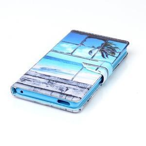 Emotive pouzdro na mobil Sony Xperia M4 Aqua - plážová scenérie - 4