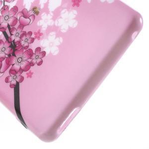 Emotive gelový obal na Sony Xperia M4 Aqua - kvetoucí větvička - 4
