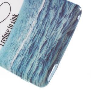Emotive gelový obal na Sony Xperia M4 Aqua - kotva - 4