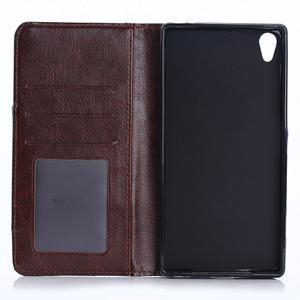 Jeans peněženkové pouzdro na Sony Xperia X - tmavěmodré - 4