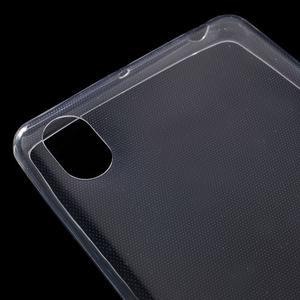 Ultratenký 0.5 mm gelový obal na Sony Xperia X - transparentní - 4