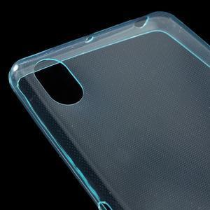 Ultratenký 0.5 mm gelový obal na Sony Xperia X - světlemodrý - 4