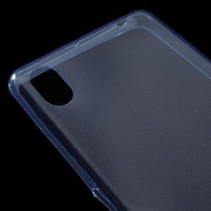 Ultratenký 0.5 mm gelový obal na Sony Xperia X - tmavěmodrý - 4
