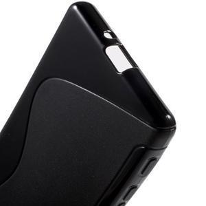 S-line gelový obal na Sony Xperia X - černý - 4