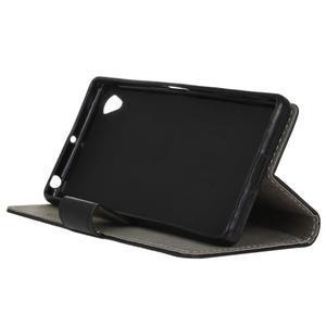 Walle peěnženkové pouzdro na Sony Xperia X - černé - 4