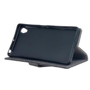 Texture pouzdro na mobil Sony Xperia X - šedé - 4