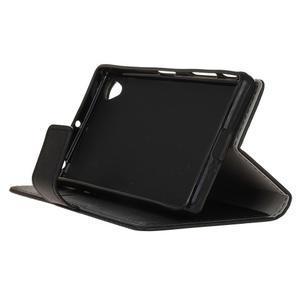 Grain koženkové pouzdro na Sony Xperia X - černé - 4