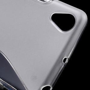 S-line gelový obal na mobil Sony Xperia X Performance - transparentní - 4