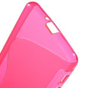 S-line gelový obal na mobil Sony Xperia X Performance - rose - 4