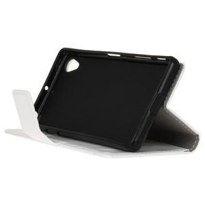 Horse peněženkové pouzdro na Sony Xperia X Performance - bílé - 4