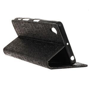 Cartoo pěněženkové pouzdro na Sony Xperia X Performance - černé - 4