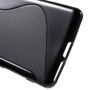 S-line gelový obal na mobil Sony Xperia XA - černý - 4