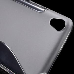 S-line gelový obal na mobil Sony Xperia XA - transparentní - 4